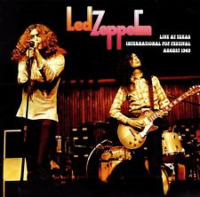 LED ZEPPELIN - LIVE AT TEXAS INTERNATIONAL POP FESTIVAL AUGUST 1969