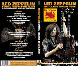 LED ZEPPELIN - SEATTLE, HERE WE COME AGAIN!